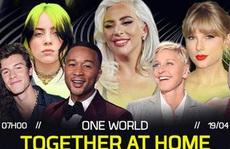 100 ngôi sao thế giới cùng hòa nhạc online