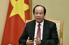 Bộ trưởng Mai Tiến Dũng: 'Ngăn sông cấm chợ' là sai chỉ đạo của Thủ tướng