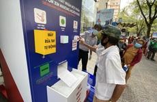 'ATM thực phẩm' cung cấp hơn 1.000 phần quà trong 3 ngày