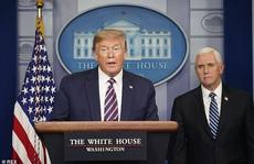 Covid-19: Tổng thống Trump bỏ họp báo sau phát ngôn gây sửng sốt