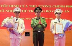 Bộ Công an có 2 tân Thứ trưởng