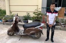 Bắt giữ 'siêu trộm' chuyên cuỗm xe máy ở TP Đồng Hới