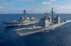 """Trung Quốc """"khuấy động"""" biển Đông, tàu chiến Mỹ tuần tra gần Trường Sa"""