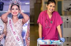 Hoa hậu Anh ra 'tiền tuyến' chống đại dịch Covid-19