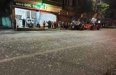 Bình gas phát nổ khi đang thay, nhân viên và con trai gia chủ bị thương