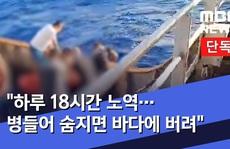 Indonesia lên án tàu cá Trung Quốc 'đối xử vô nhân đạo' với ngư dân mình