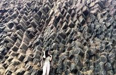 Ngỡ ngàng trước vẻ đẹp tự nhiên của gành Đá Dĩa trên núi
