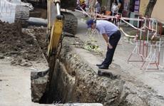 Bà Rịa: Cống thoát nước sập, lấp chết công nhân