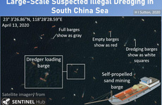 Ảnh vệ tinh: Tàu Trung Quốc nạo vét cát biển Đông với quy mô 'không tưởng'