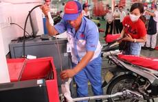 Người dân TP HCM được kiểm tra khí thải xe máy miễn phí
