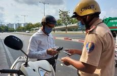 CSGT tổng kiểm tra phương tiện đường bộ: 'Làm nóng' lại Nghị định 100