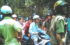 Nguyễn Văn Ê Em truy sát cha mẹ vợ rồi chui vào lu nước trốn