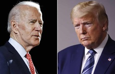 """Tổng thống Trump """"lép vế"""" trước ông Biden ở một số bang"""