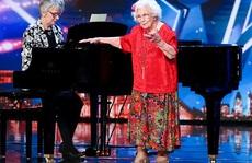 Cụ bà 96 tuổi vẫn thi 'Tìm kiếm tài năng Anh'