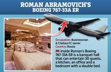 Ngắm 'cung điện bay' 80 triệu USD của tỉ phú Abramovich