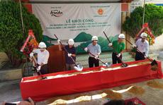 Khởi công dự án nước sạch cho người dân vùng bị chất độc da cam