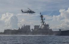 Mỹ tố nhiều vụ 'chạm trán không an toàn' với Trung Quốc trên biển Đông