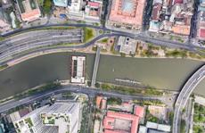 Công trình chống ngập 10.000 tỉ ở TP HCM nhìn từ trên cao