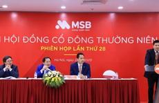 MSB đặt mục tiêu lợi nhuận năm 2020 đạt 1.439 tỉ
