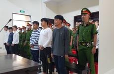 CLIP: Hàng trăm cảnh sát đang bảo vệ phiên tòa xử 28 giang hồ Cai Lậy