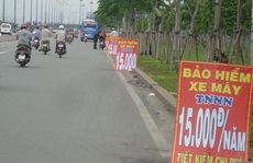 Mua bảo hiểm xe máy ở lề đường có được bồi thường?