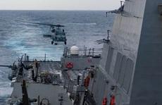 Mỹ tiếp tục thách thức Trung Quốc ở biển Đông