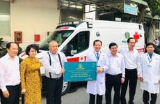 Bệnh viện Nhân dân 115 được 'tiếp sức' trong phòng, chống Covid-19