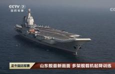 Trung Quốc chạy thử nghiệm tàu sân bay tự tạo đầu tiên