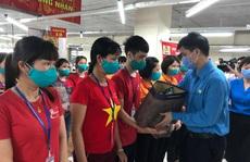 Lãnh đạo Tổng LĐLĐ Việt Nam thăm, tặng quà công nhân lao động tỉnh Hưng Yên