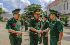 Bộ Quốc phòng kiểm tra công tác biên phòng tại TP HCM