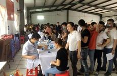 Hà Nội: 1.500 công nhân được khám sức khỏe định kỳ