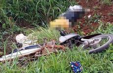 Xe tải húc văng xe máy xuống vực, 1 phụ nữ tử vong tại chỗ
