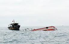 Tàu cá bị tông chìm khiến 1 người chết, 4 người mất tích