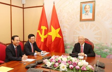 Tổng Bí thư, Chủ tịch nước Nguyễn Phú Trọng điện đàm với Tổng thống Nga Putin