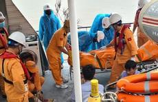 Thợ lặn tìm thấy thi thể 4 ngư dân mất tích trong vụ chìm tàu trên vùng biển Hải Phòng
