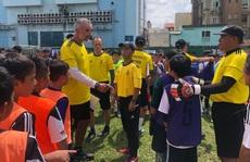 500 cầu thủ 'nhí' so tài, hy vọng lọt vào học viện Juventus Việt Nam