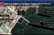 """Phát hiện """"tàu ngầm bí ẩn"""" ở Triều Tiên"""