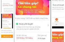 Vay tiền qua app, công nhân nghèo thêm khốn khó