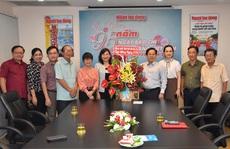 Nhiều đơn vị chúc mừng Báo Người Lao Động