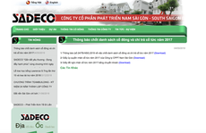 Khởi tố 3 người liên quan đến sai phạm tại Công ty  SADECO
