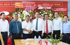 Lãnh đạo TP HCM thăm các cơ quan báo chí