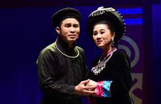 NSƯT Quế Trân phấn khởi hòa cùng sân khấu miền Bắc