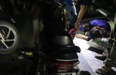 Người phụ nữ bất tỉnh tại trạm chờ xe buýt cạnh chai thuốc trừ sâu