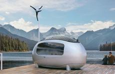 Bên trong ngôi nhà quả trứng sử dụng năng lượng mặt trời 56.000 USD