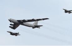 Lần thứ 3 máy bay ném bom B-52 Mỹ triển khai gần bán đảo Triều Tiên