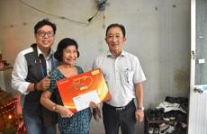 'Mai Vàng nhân ái' thăm nhạc sĩ Nguyễn Tôn Nghiêm và 'đào võ' Thanh Thế