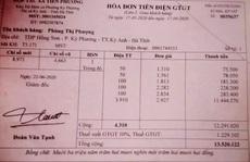 Xôn xao hóa đơn tiền điện của người phụ nữ độc thân trên 13 triệu đồng/tháng