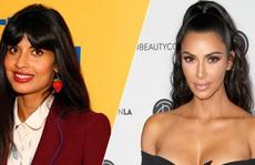 'Bông hồng' Anh lên án Kim Kardashian khoe eo tí hon