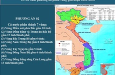 Phân chia lại các vùng kinh tế trên cả nước