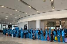 Sân bay Đà Nẵng đón hơn 340 người Việt từ Nhật Bản về nước